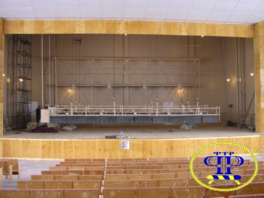Mechanism of stage curtains