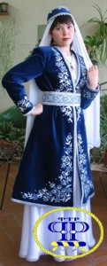 Tatar national costume